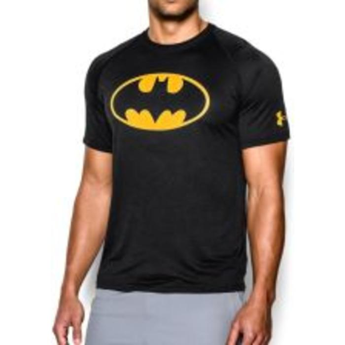 Remera Heatgear Batman Suelta
